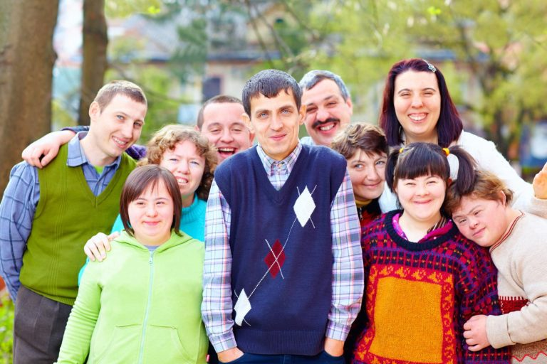 Adult Group with Disabilities