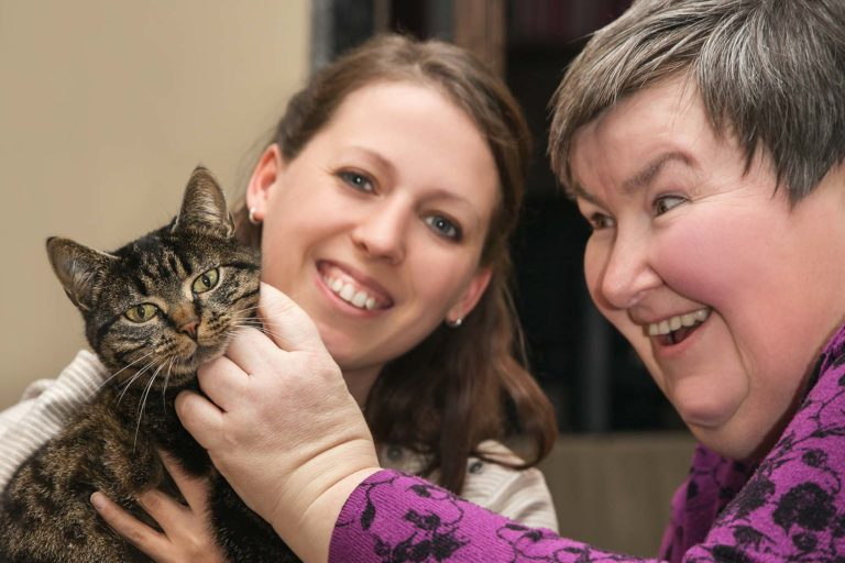 Caregiver caring for Adult with Disabilities